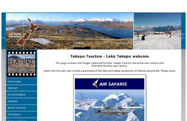 http://www.tekapotourism.co.nz/webcam.html