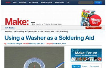 http://blog.makezine.com/2012/02/24/using-a-washer-as-a-soldering-aid/