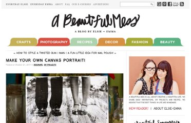 http://abeautifulmess.typepad.com/my_weblog/2011/10/make-your-own-canvas-portrait.html/