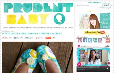 http://prudentbaby.com/2010/10/baby-kid/how-to-make-fabric-slippers-with-free-pattern-2/