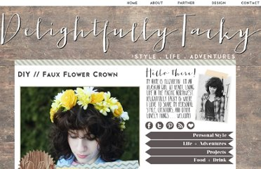 http://www.delightfully-tacky.com/2012/02/diy-faux-flower-crown.html
