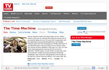 http://movies.tvguide.com/the-time-machine/135724