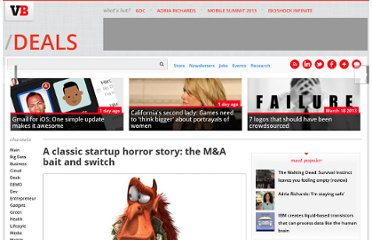 http://venturebeat.com/2012/02/27/a-classic-startup-horror-story-the-ma-bait-and-switch/