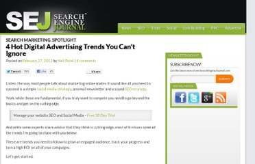 http://www.searchenginejournal.com/4-hot-digital-advertising-trends-you-cant-ignore/40606/