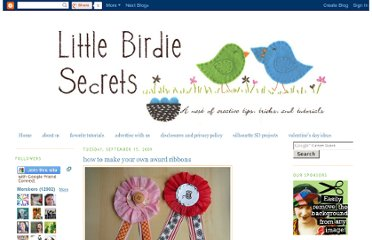 http://littlebirdiesecrets.blogspot.com/2009/09/how-to-make-your-own-award-ribbons.html