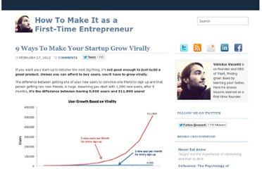 http://viniciusvacanti.com/2012/02/27/9-ways-to-make-your-startup-grow-virally/