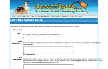 http://www.garagesales.com/post-free-garage-sale-ads