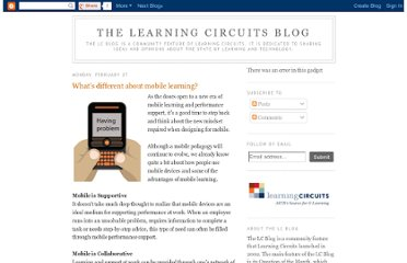 http://learningcircuits.blogspot.com/2012/02/whats-different-about-mobile-learning.html