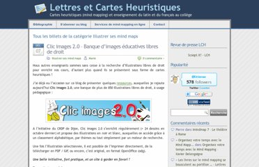 http://lewebpedagogique.com/litterae/category/illustrer-ses-mind-maps/