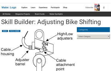 http://blog.makezine.com/2011/04/28/skill-builder-adjusting-bike-shifting/