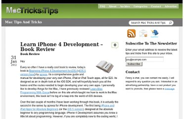http://www.mactricksandtips.com/2012/01/iphone-4-development-book-review.html