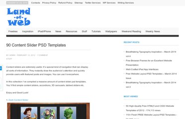 http://www.land-of-web.com/stuff/90-content-slider-psd-templates.html