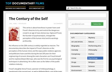 http://topdocumentaryfilms.com/the-century-of-the-self/
