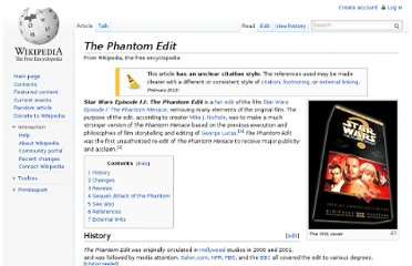 http://en.wikipedia.org/wiki/The_Phantom_Edit