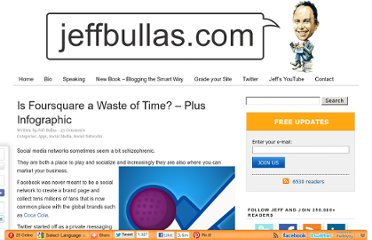 http://www.jeffbullas.com/2012/02/28/is-foursquare-a-waste-of-time-plus-infographic/