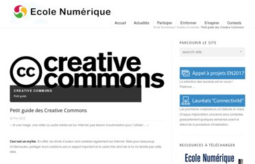 http://www.ecolenumerique.be/qa/2012/02/22/petit-guide-des-creative-commons/