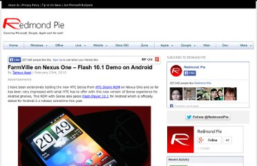 http://www.redmondpie.com/farmville-on-nexus-one-flash-10.1-demo-on-android-2.1-9140472/