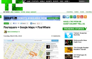 http://techcrunch.com/2010/03/09/foursquare-google-maps-fourwhere/