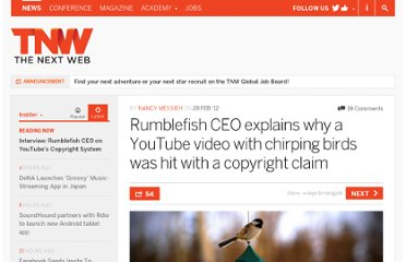http://thenextweb.com/insider/2012/02/28/rumblefish-ceo-explains-why-a-youtube-video-with-chirping-birds-was-hit-with-a-copyright-claim/