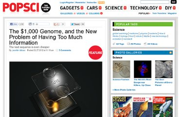 http://www.popsci.com/science/article/2012-02/1000-genome-medicine-has-new-problem-too-much-information