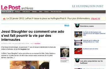 http://archives-lepost.huffingtonpost.fr/article/2010/07/19/2157369_la-chronique-facile-du-mercredi-jessi-slaughter-consequence-will-never-be-the-same.html
