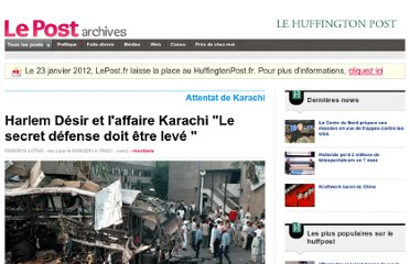 http://archives-lepost.huffingtonpost.fr/article/2010/06/03/2097894_harlem-desir-et-l-affaire-karachi-le-secret-defense-doit-etre-leve.html