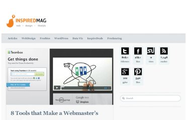 http://inspiredm.com/8-tools-that-make-a-webmasters-life-easier/