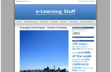 http://elearningstuff.net/2012/02/28/emerging-technologies-horizon-scanning/