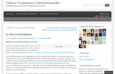 http://tribuneci.wordpress.com/2012/02/27/le-ipad-en-bibliotheque/