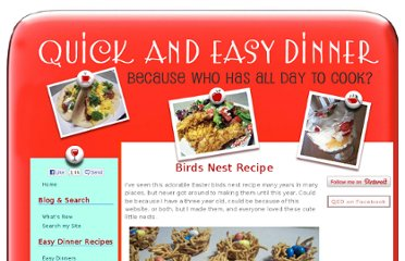 http://www.quick-and-easy-dinner.com/birds-nest-recipe.html