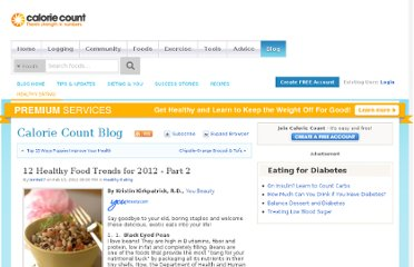 http://caloriecount.about.com/blog/partners/12-healthy-food-trends-2012-part-b554814