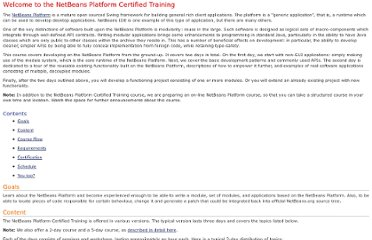 http://edu.netbeans.org/courses/nbplatform-certified-training/