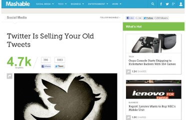 http://mashable.com/2012/02/28/twitter-is-selling-old-tweets/