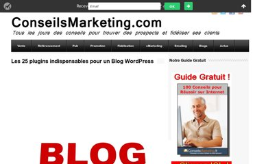 http://www.conseilsmarketing.com/referencement/les-25-plugins-indispensables-pour-un-blog-wordpress