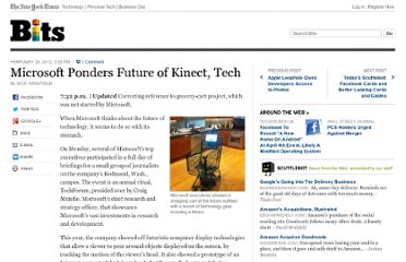 http://bits.blogs.nytimes.com/2012/02/28/microsoft-ponders-future-of-kinect-tech/