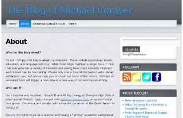 http://www.michaelcorayer.com/about/