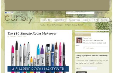 http://www.curbly.com/users/chrisjob/posts/5316-the-10-sharpie-room-makeover