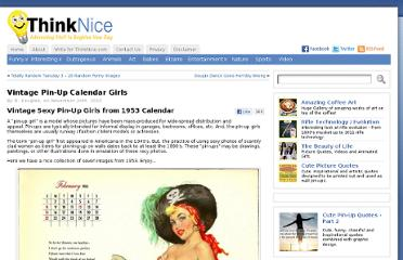 http://www.thinknice.com/vintage-pin-up-calendar-girls/