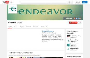 http://www.youtube.com/user/endeavorglobal#p/u
