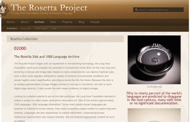 http://rosettaproject.org/archive/collection/