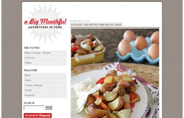 http://www.abigmouthful.com/sausage-and-potato-breakfast-bake/