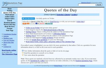 http://www.quotationspage.com/qotd.html