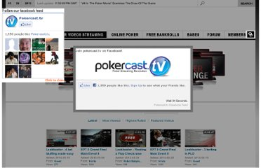 http://www.pokercast.tv/poker-videos-streaming