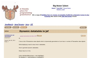 http://www.coderanch.com/t/568331/JSF/java/Dynamic-datatable-jsf