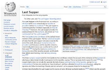 http://en.wikipedia.org/wiki/Last_Supper