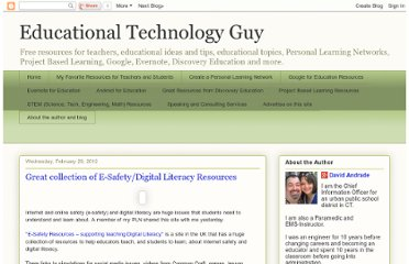 http://educationaltechnologyguy.blogspot.com/2012/02/great-collection-of-e-safetydigital.html