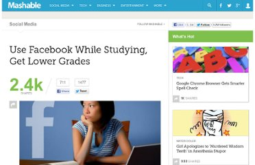 http://mashable.com/2012/02/29/facebook-homework-lower-grades-study/