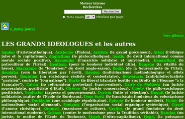 http://www.denistouret.fr/ideologues/index.html