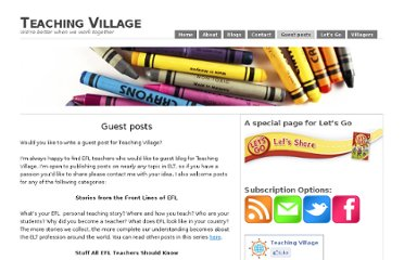 http://www.teachingvillage.org/would-you-like-to-write-a-guest-post-for-teaching-village/