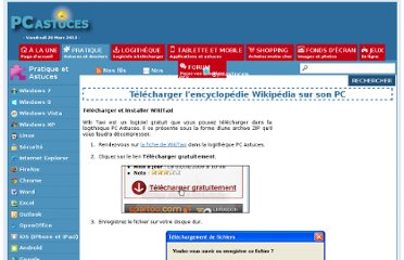 http://www.pcastuces.com/pratique/internet/telecharger_wikipedia/page2.htm